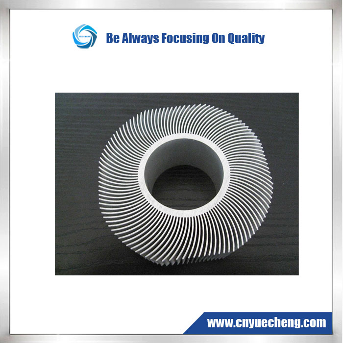 High Quality Aluminum Profile for Heatsink with Anodizing and Machining