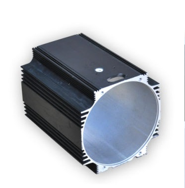 Extruded Aluminium Motor Shell or housing
